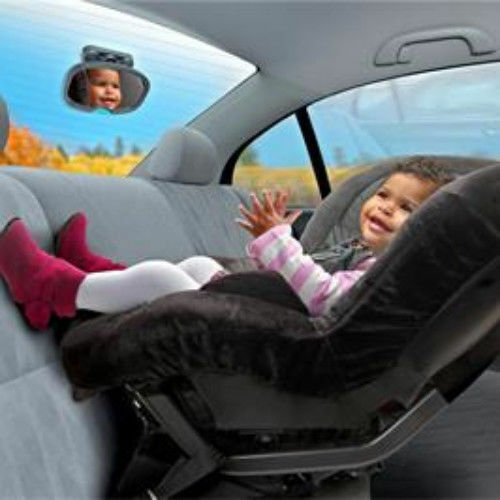Brica Stay In Place Baby Rear Facing Car Mirror
