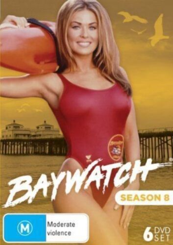 Baywatch Season 8 DVD 6-Disc Set New and Sealed Australia All Regions