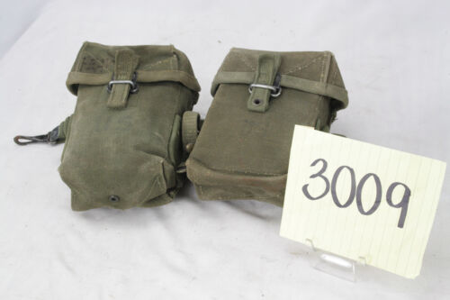 PAIR OF US VIETNAM M56 AMMO POUCHES CLEAN CONDITION LAST RUN