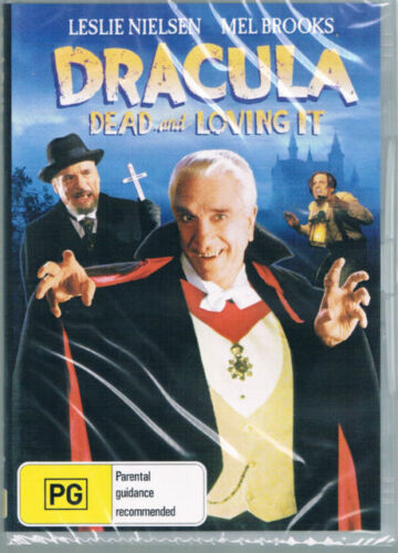 Dracula Dead And Loving It DVD New and Sealed Australia All Regions