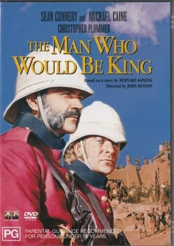 The Man Who Would Be King DVD New and Sealed Australia Region 4