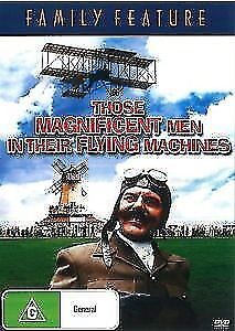 Those Magnificent Men In Their Flying Machines DVD New Australia