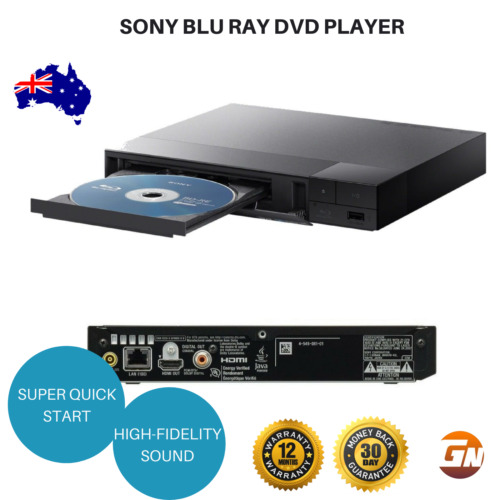 Sony Blu Ray DVD CD Player TRILUMINOUS Full HD USB Quickstart BDP-S1500
