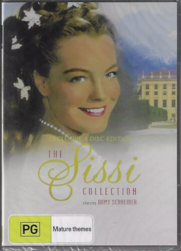 The Sissi Collection DVD Australian Release 4-Disc Set New and Sealed Region 4