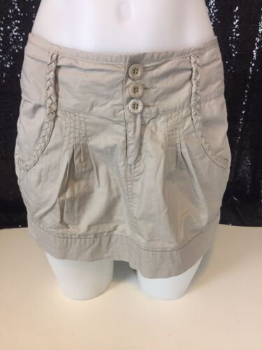 Rip Curl Girls Khaki Skirt Size 8 Excellent Like New Condition