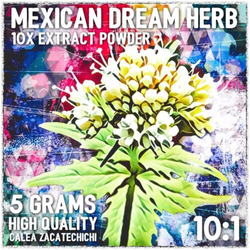Mexican Dream Herb| (Calea zacatechichi) 10x Extract Powder [5 Grams]