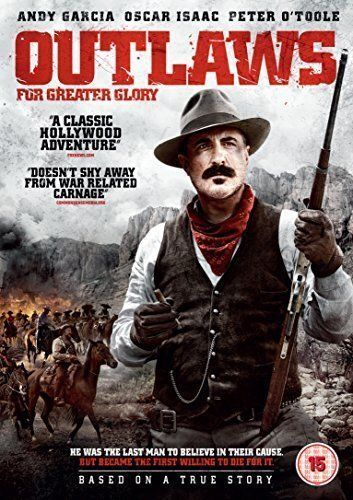 OUTLAWS For Greater Glory DVD Andy Garcia New Sealed Australia Region 4