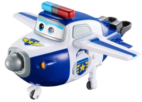 Super Wings Transforming Paul Character Jet Toy Kids