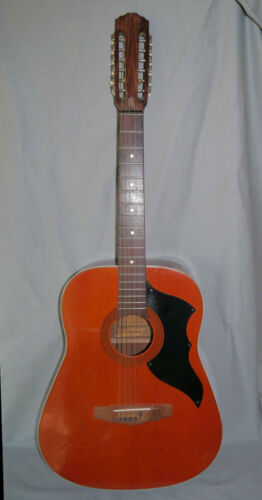 Rare guitare vintage Admira Western 1000/12   Made in Spain 70's