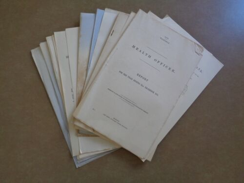 25 x Victorian Parliamentary papers