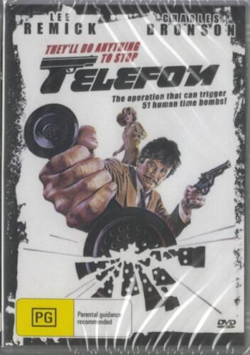 Telefon Telephone DVD Charles Bronson New Sealed Australia Region 4