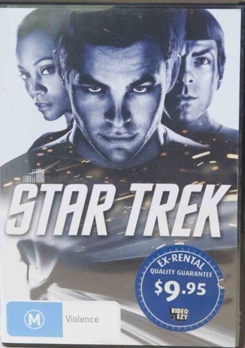 Star Trek DVD PAL 4 Region 4, includes Special Features, 'M' Free Standard Post