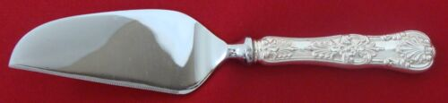 ENGLISH KING by Tiffany  SERRATED CHEESE SERVER With sterling silver handle, 7""