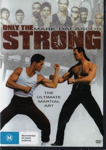 Only the Strong DVD Mark Dacascos New and Sealed Australian Release