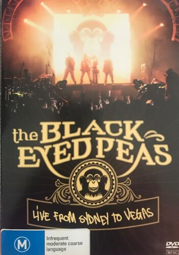 Black Eyed Peas : Live From Sydney To Vegas DVD  New
