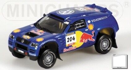 Volkswagen Race Touareg Pons Rally Parigi Dakar 2004 1:43 Model MINICHAMPS