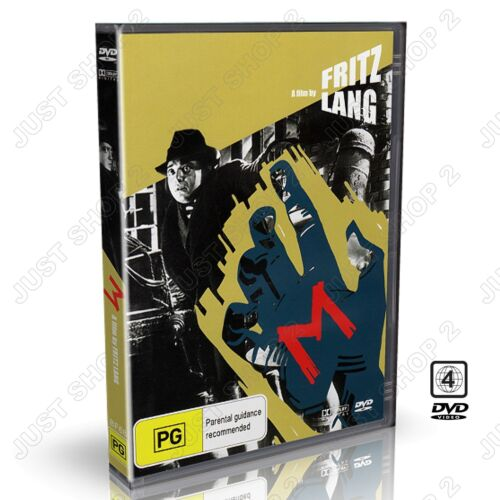 M : Movie / Film by Fritz Lang : German / English Subs : Brand New