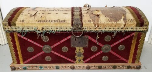 Antique Italian / Spanish Trunk