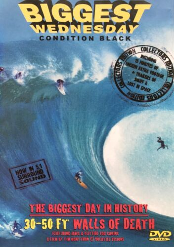 BIGGEST WEDNESDAY :CONDITION BLACK ~ DVD (NEW ) All PAL