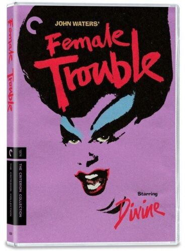 Female Trouble DVD (2disc) John Waters Digitally Restored Brand New Aus Region 4