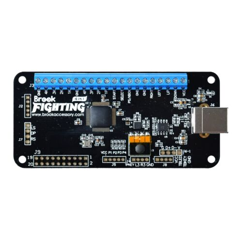 Brook Universal Fighting Board w/o Pin Header for Xbox One 360 PS4 PS3 Wiii U PC