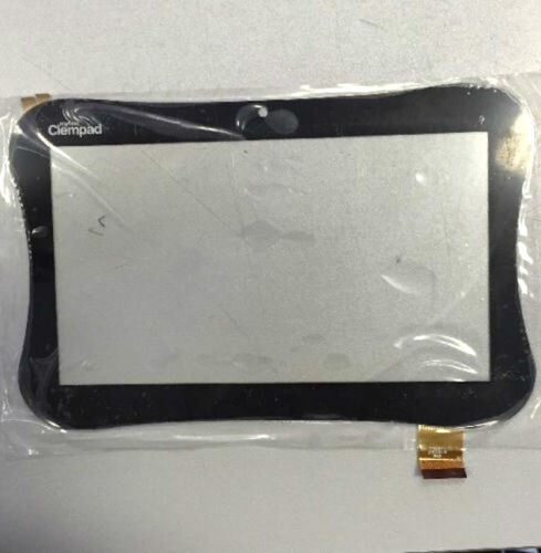 """VETRO+TOUCH SCREEN ORIGINALE CLEMENTONI CLEMPAD 7"""" MY FIRST FORO 13662 13674"""