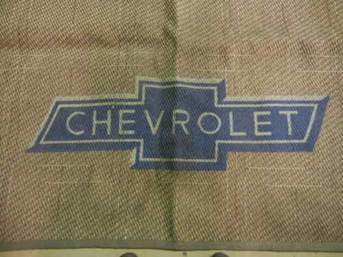 Chevrolet vintage dealer showroom carpet
