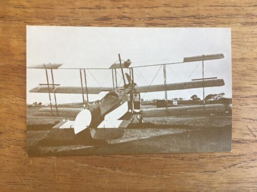VINTAGE WW1 MODIFIED AVRO 504 REAL PHOTO MILITARY POST CARD1914 - 1918 (WWI) - 13962