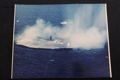 "SUBMARINE PHOTOGRAPH SUBMARINE TARGET EXERCISE #2 8""X10"" COLOR PHOTO (P929)Navy - 66533"