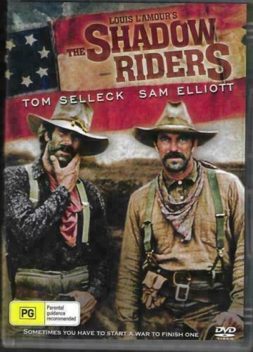 The Shadow Riders DVD Tom Selleck Sam Elliot New Sealed Australian Release