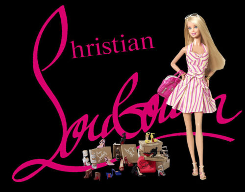Christian Louboutin Barbie #4 Canvas Art Print 16 x 20     #3517