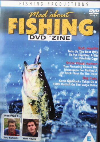 MAD ABOUT FISHING * NEW SEALED DVD * FISHING PRODUCTIONS * ANGLING TIMES
