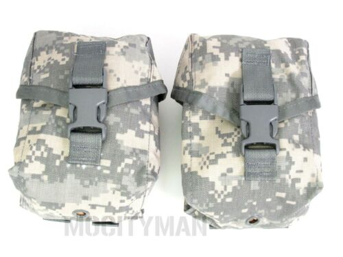 Military 100 Round ACU Utility Saw Gunners Pouch - Lot of 2 - New - USA MadePouches - 70991