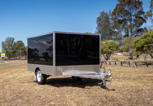 Glossy Enclosed Box Trailer | 600 kg Carrying Capacity