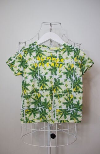 """""""Zara Baby"""" Size 3/4 Boys Green Tropical Top! Great Condition!  Bargain Price!"""