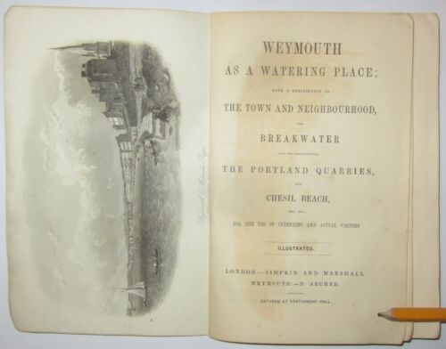 Weymouth as a watering place with a description 1857
