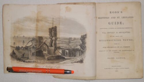 Neighbouring Towns Ross's Hasting and St. Leonards Guide 1843