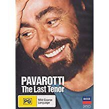 Pavarotti: The Last Tenor (DVD) New and Factory Sealed