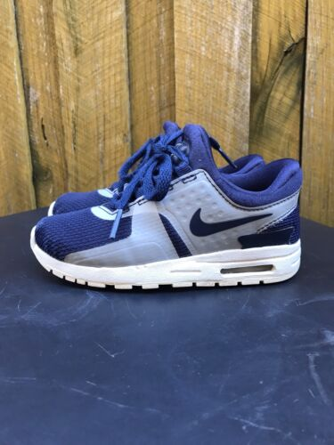 Nike Air Max Blue Kids Sneakers. Size US 9C. Zero Essential GS. 881224-402