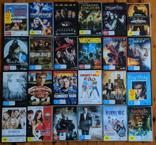 Region 4 DVDs - No ex-rentals