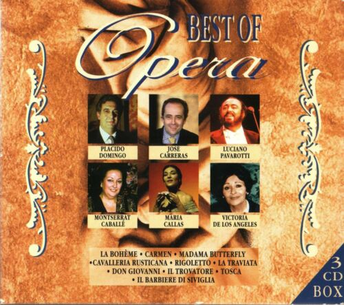 BEST OF OPERA -  3 CD BOX