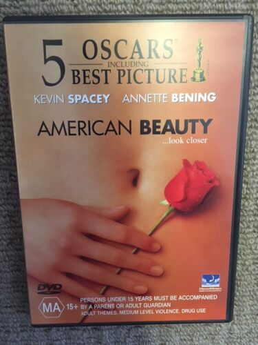 American Beauty (DVD, 2009) [Kevin Spacey, Annette Bening [Like New]