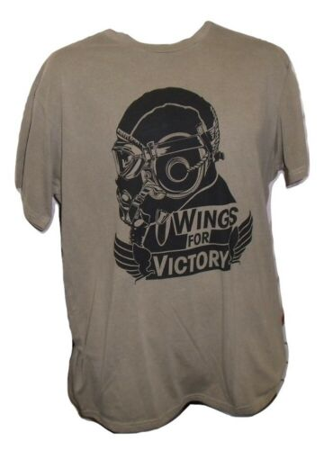 Call Of Duty 'Wings For Victory' olive green gaming t shirt, med, official merch
