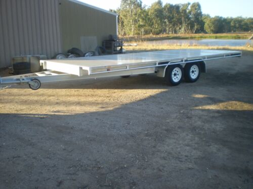 NEW FLAT TOP TRAILER 6100mm x 2450MM AND 2800kg Gross