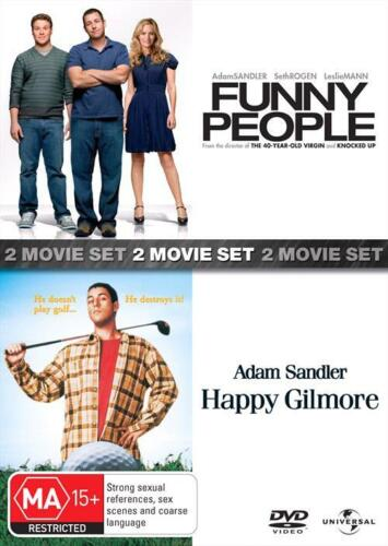 Funny People / Happy Gilmore (DVD, 2010, 2-Disc Set) // Brand New