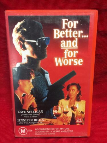 For Better And For Worse VHS Video Tape Movie 21st Century Pictures