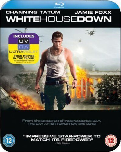 White House Down (Limited Edition Blu-Ray Steelbook)