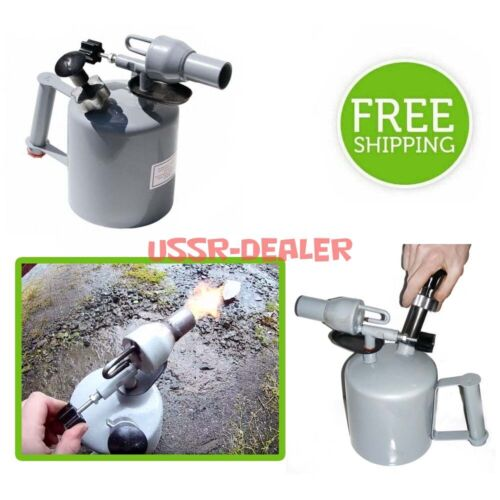 GAS BLOW PIPE BLOW TORCH BLOWLAMP BLOWPIPE 2 LITER LAMP FUEL PETROL GASOLINE