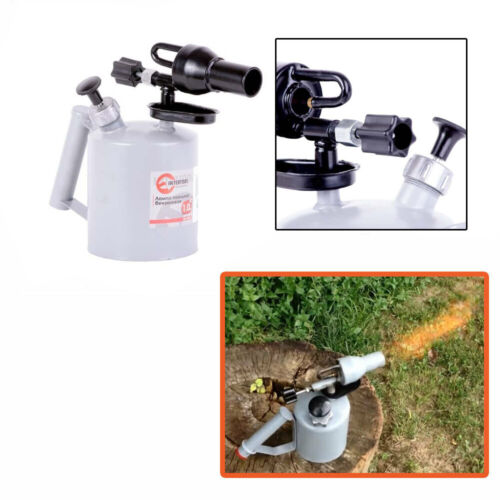 GAS BLOW PIPE BLOW TORCH BLOWLAMP BLOWPIPE 1 LITER LAMP FUEL PETROL GASOLINE