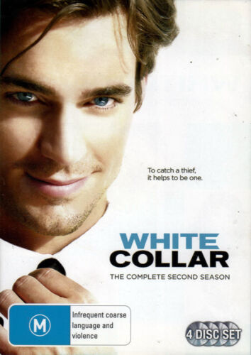 'White Collar' The Complete Second Season - 4 DVD Set - New Sealed